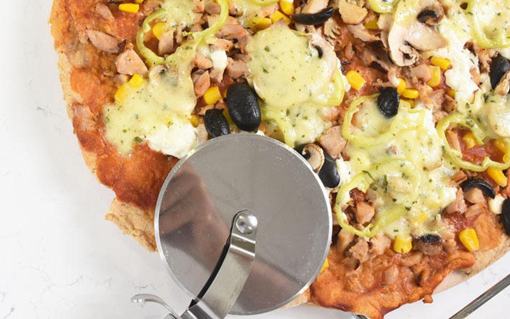 Протеинова пица с лимец