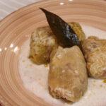Сарми с млечен сос в крокпот