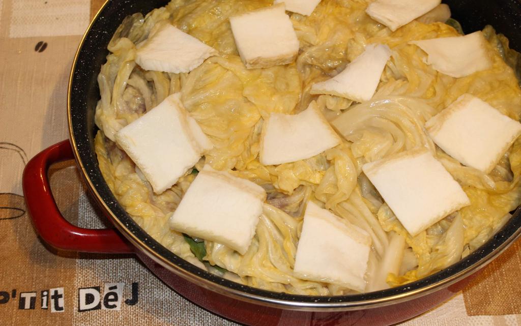 Вратни пържоли в зелеви листа