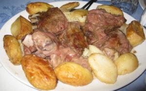 агнешко с картофи