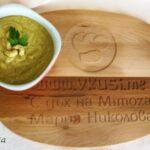Картофена крем супа с кашу