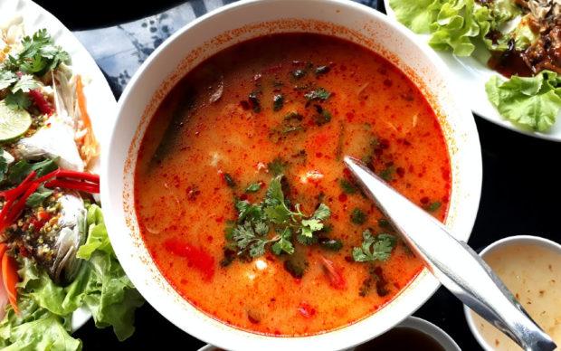 Тайландска супа със скариди