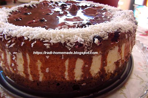 """Макова торта """"Горска наслада"""""""
