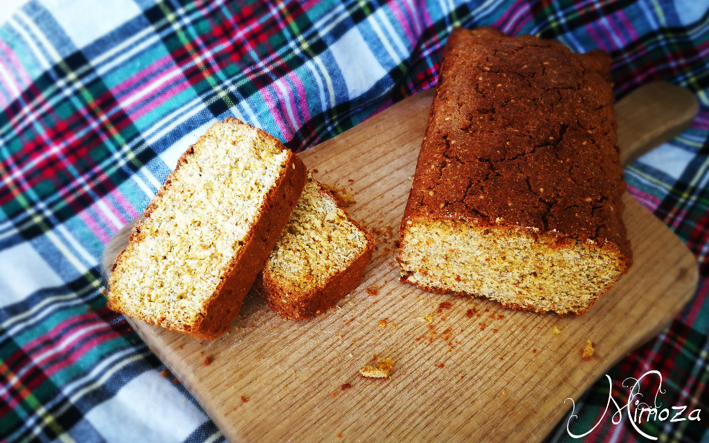 Нахутен хляб с моркови и подправки