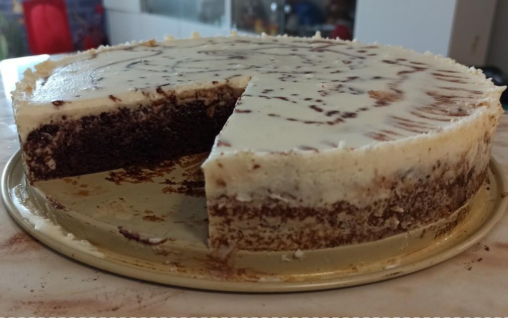 """Домашна торта """"Сладко изкушение"""""""