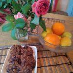 Здравословни бисквитки с овесени ядки, фурми и кафява захар