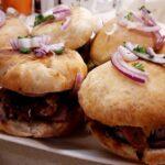 Пакистански бургер кебап
