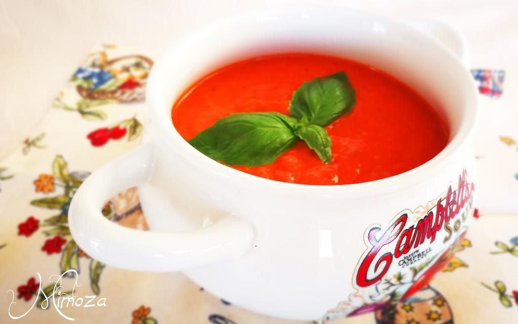 Печена крем супа