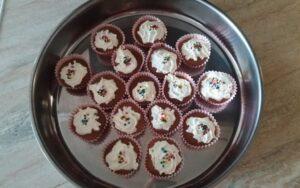 Кексчета с кафява захар и пълнозърнесто брашно