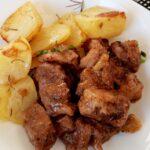 Мариновано свинско с вино и чесън (Carne Vinha d'alhos)