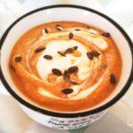 Крем супа с тиква и червена леща