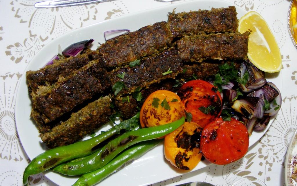 Кебап и дзадзики по персийски