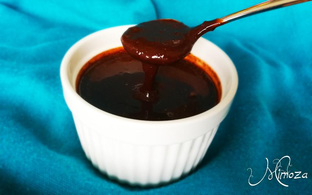 Шоколадов пудинг без захар