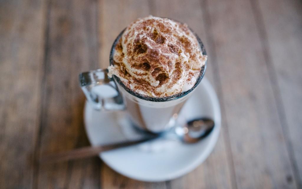 Студено кафе с течен шоколад