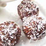 Сурови бонбони с кокос