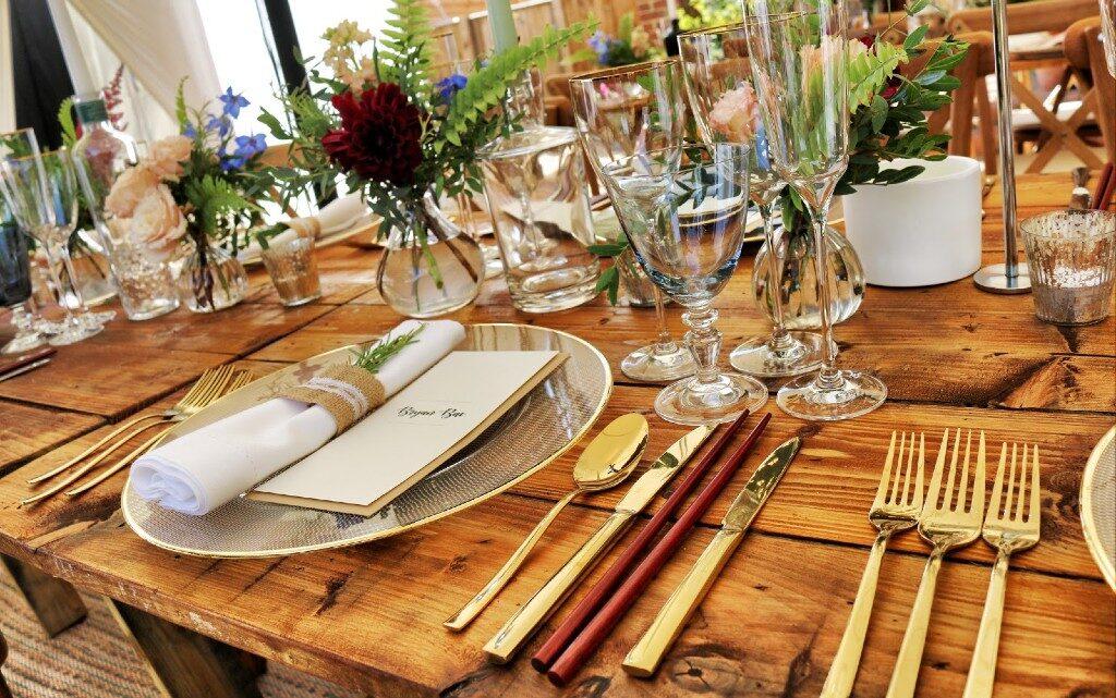 Подредба на масата в ресторант: какво е важно?