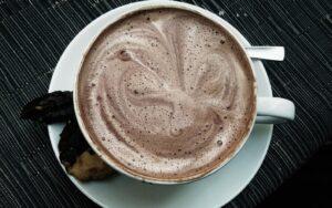 Топъл шоколад с кафе