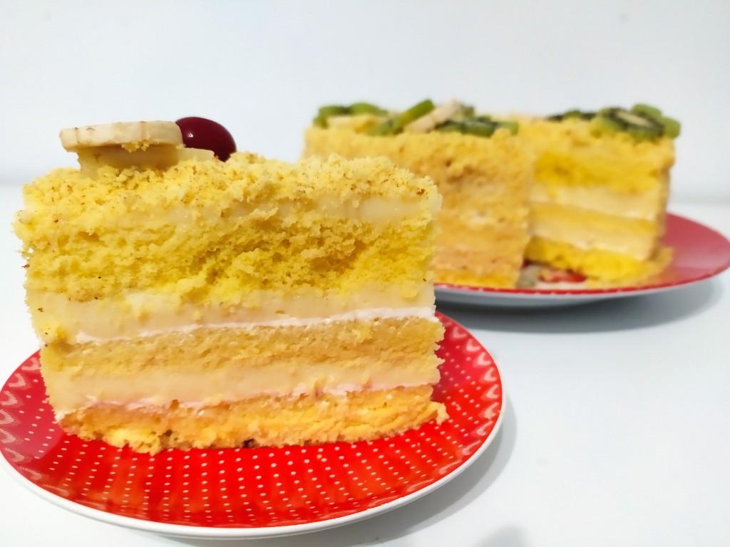 """Торта """"Мимоза"""""""