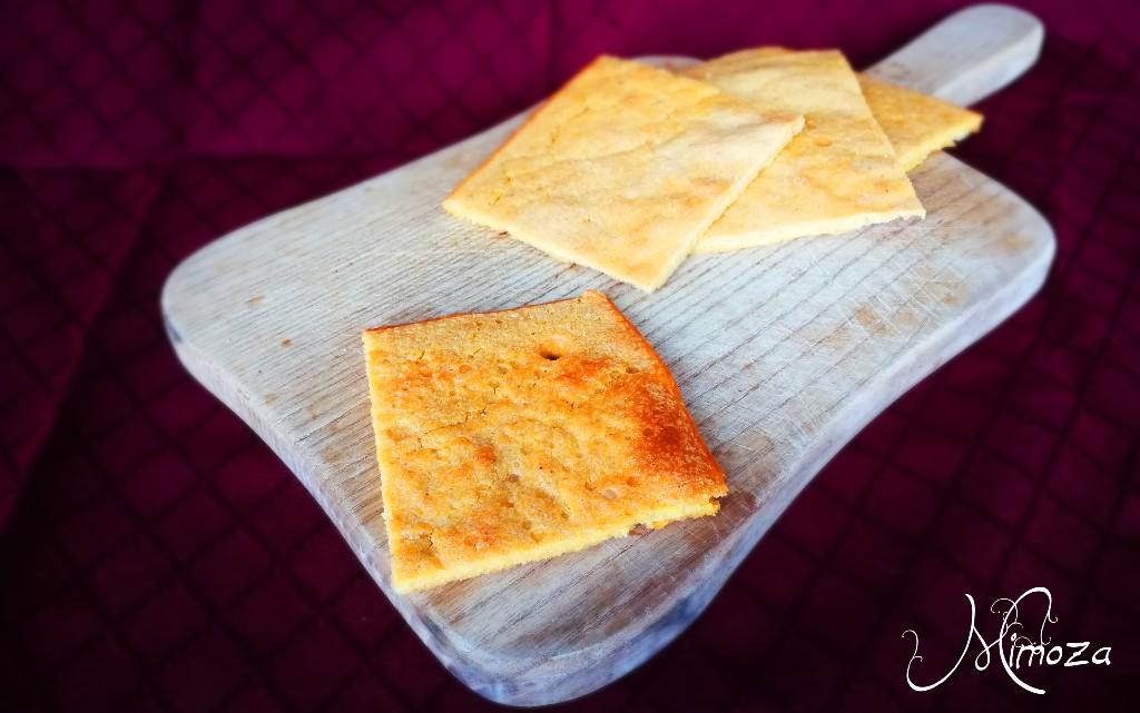 """Плосък нахутен хляб """"Фарината"""""""