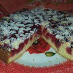 Плодов сладкиш с вишни
