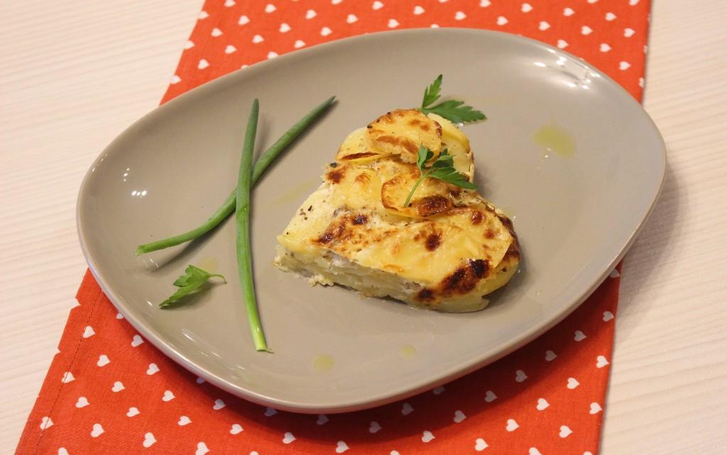 Редени картофи със сметана и трюфел паста