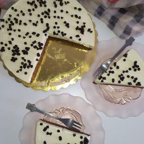 Брауни с домашен сладолед