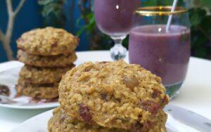 Овесени бисквити със стафиди