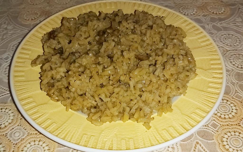 Ориз със сушени манатарки