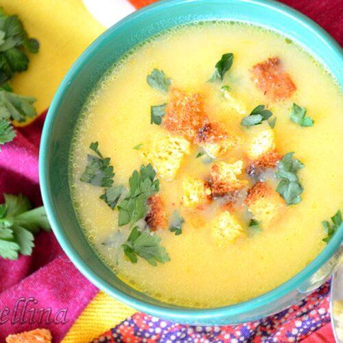 Топла крем супа от тиква
